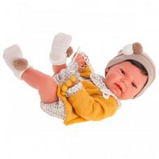Munecas Antonio Juan Кукла Элис в желтом 42 см