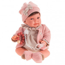 Munecas Antonio Juan Кукла Елена в розовом 40 см
