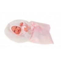 Munecas Antonio Juan Кукла-младенец Эльза в розовом 33 см