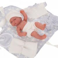 Munecas Antonio Juan Кукла-младенец Фернандо в голубом 26 см