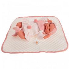 Munecas Antonio Juan Кукла Пола в розовом 40 см