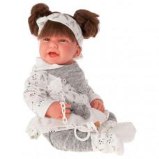 Munecas Antonio Juan Кукла Ребека в сером 40 см