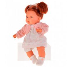 Munecas Antonio Juan Кукла Тереза в розовом озвученная 37 см
