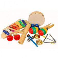 Музыкальный инструмент Flight Набор перкуссии (10 предметов)