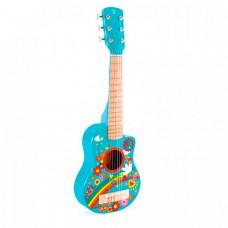 Музыкальный инструмент Hape Гитара Цветы