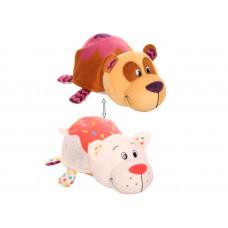 Мягкая игрушка 1 Toy Вывернушка Панда и Кошечка с ароматом 40 см
