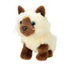 Мягкая игрушка All About Nature Сиамская кошка 20 см