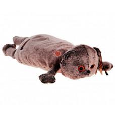 Мягкая игрушка Budi Basa Кот-подушка Басик со съемным бантом 40 см
