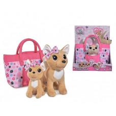 Мягкая игрушка Chi-Chi Love собачки Счастливая семья 20см 14см