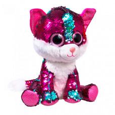 Мягкая игрушка Fancy Котёнок Рубинчик 23 см