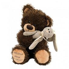 Мягкая игрушка Fancy Медвежонок Чиба с зайцем