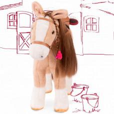 Мягкая игрушка Gotz Лошадь с расческой