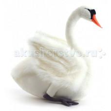 Мягкая игрушка Hansa Лебедь черный 45 см