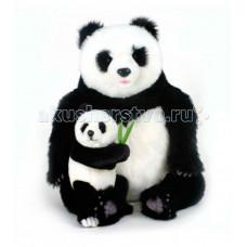 Мягкая игрушка Hansa Панда с детенышем 75 см