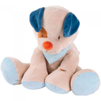 Мягкая игрушка Nattou Soft toy Jim & Bob Собачка 75 см