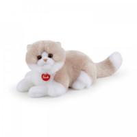 Мягкая игрушка Trudi Кошка Гиада лежачая 20x20x47 см