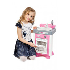 Игровой набор Carmen №3 с посудомоечной машиной и мойкой (в пакете) (со звуком, каплями воды и циркулирующей водой в мойке)