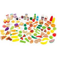 """Набор игрушечной еды """"Вкусное удовольствие"""", 115 элементов"""