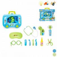 Наша Игрушка Игровой набор Доктора со светом и звуком в чемоданчике (11 предметов)