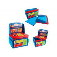Наша Игрушка Корзина для игрушек Магазин 40х30х28/55 см