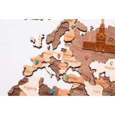 Нумикон Карта Мира из дерева Color