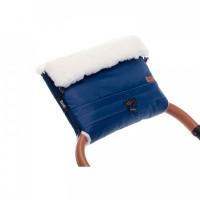 Nuovita Муфта меховая для коляски Alaska Bianco