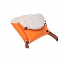 Nuovita Муфта меховая для коляски Polare Bianco