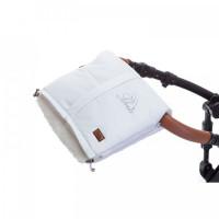 Nuovita Муфта меховая для коляски Siberia Bianco