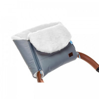 Nuovita Муфта меховая для коляски Vichingo Bianco