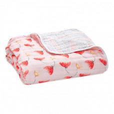 Одеяло Aden&Anais из муслинового хлопка Picked for you 120х120 см
