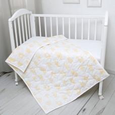 Одеяло Baby Nice (ОТК) стеганое Облака 105 х 140 300 гр.