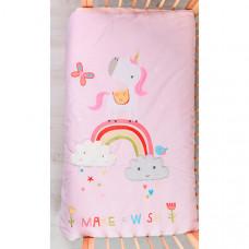 Одеяло Bizzi Growin Dream Rainbow and Unicorns 120х100 см