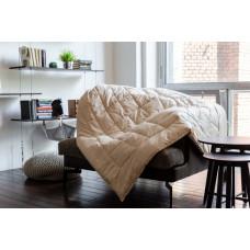 Одеяло German Grass Almond Wool теплое 200х220 см