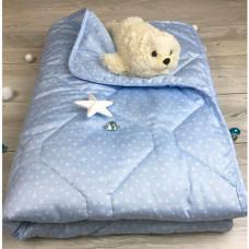 Одеяло Soni Kids Premium Сердечки 145х205 см