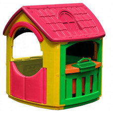Palplay (Marian Plast) Игровой домик + гараж