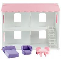 Paremo Кукольный дом Даниэла с мебелью (6 предметов)