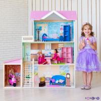 Paremo Кукольный дом Розали Гранд (с мебелью)