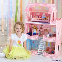 Paremo Кукольный домик Адель Шарман (с мебелью)