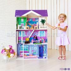 Paremo Кукольный домик Флоренция (с мебелью)