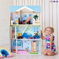 Paremo Кукольный домик Лацио (с мебелью)