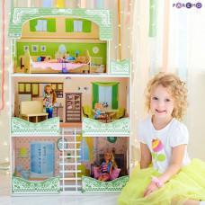 Paremo Кукольный домик Луиза Виф (с мебелью)