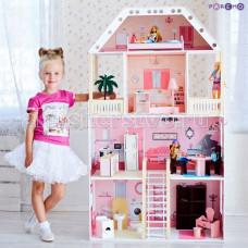 Paremo Кукольный домик Поместье Монтевиль (с мебелью)