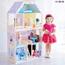Paremo Кукольный домик Поместье Риверсайд (с мебелью)