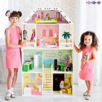 Paremo Кукольный домик Поместье Шервуд (с мебелью)