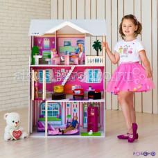 Paremo Кукольный домик Сицилия (с мебелью)