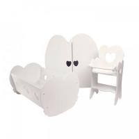 Paremo Набор кукольной мебели (3 предмета)