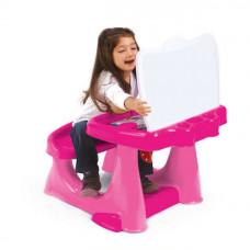 Парта со скамейкой и открывающейся столешницей DL_7060