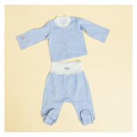 Pecorella Комплект Серая звездочка (кофточка и штанишки)