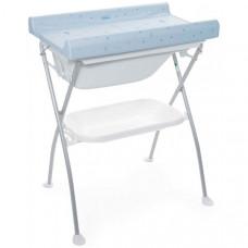 Пеленальный столик Chicco Bubble Land Teddy Bear с ванночкой