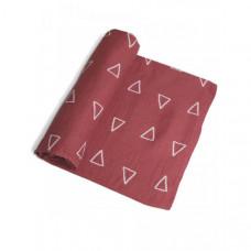 Пеленка Adam Stork муслиновая Triangles 100x100 см